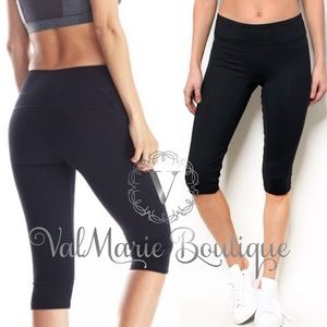Black active Capri athletic pants
